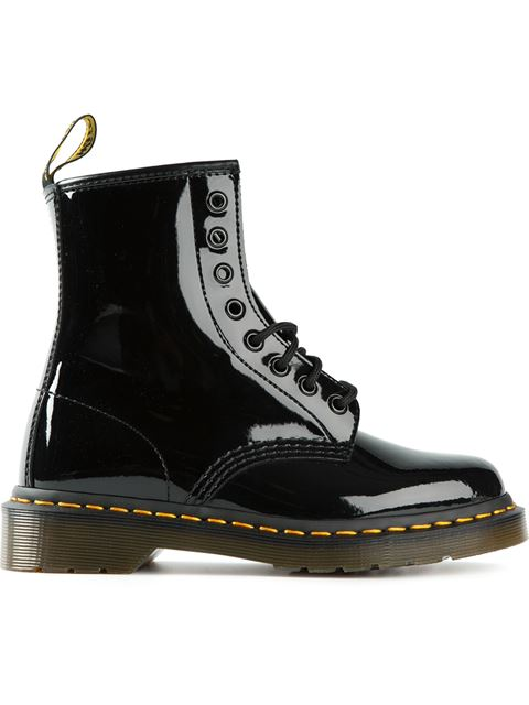 JADON BLACK LEATHER ANKLE BOOTS WITH MAXI GRIP FAST SOLE