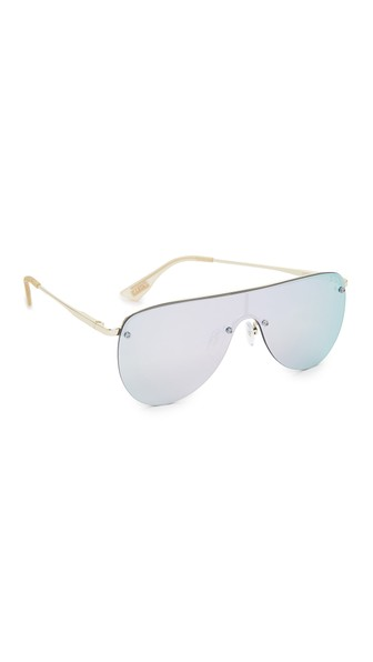 The King mirrored sunglasses