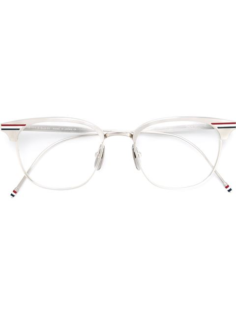 SHINY SILVER OPTICAL GLASSES