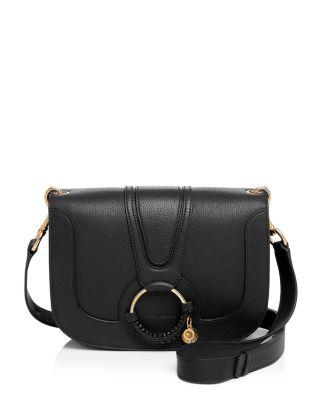 Hana Medium Goatskin Leather Crossbody Bag