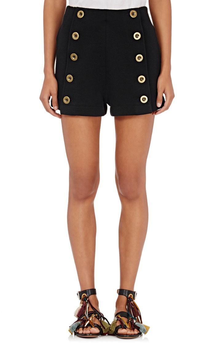 Chloé Knits Milano Knit Sailor Shorts