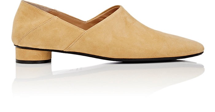The Row Suedes Noelle Suede Loafers