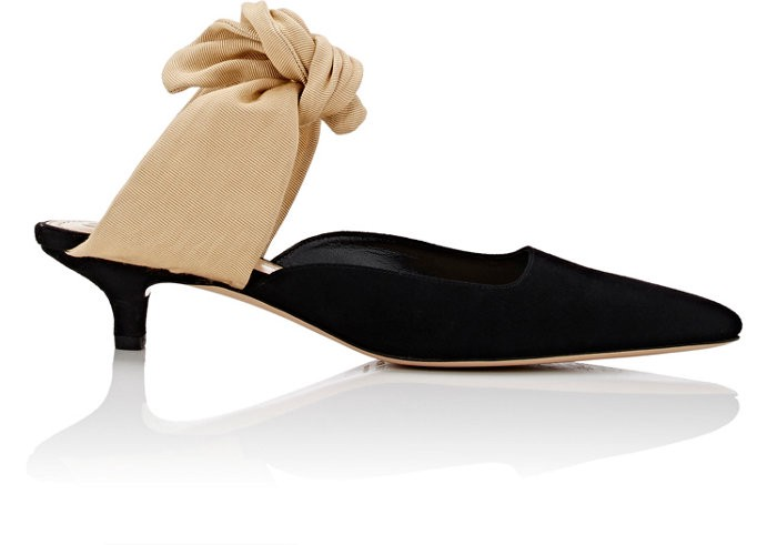 The Row Sandals COCO SUEDE MULES