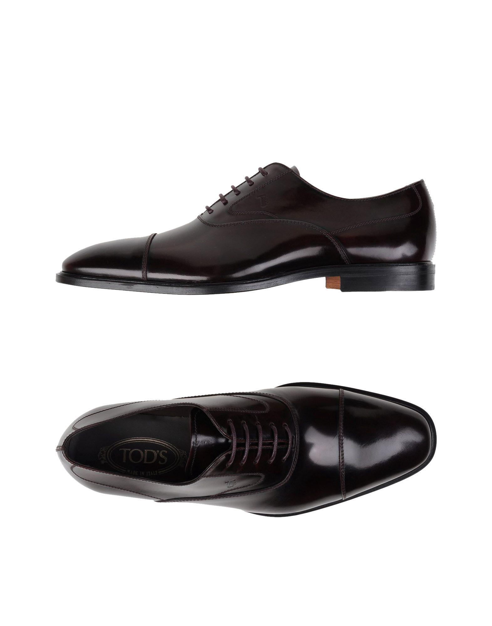Tod's Leathers Laced shoes