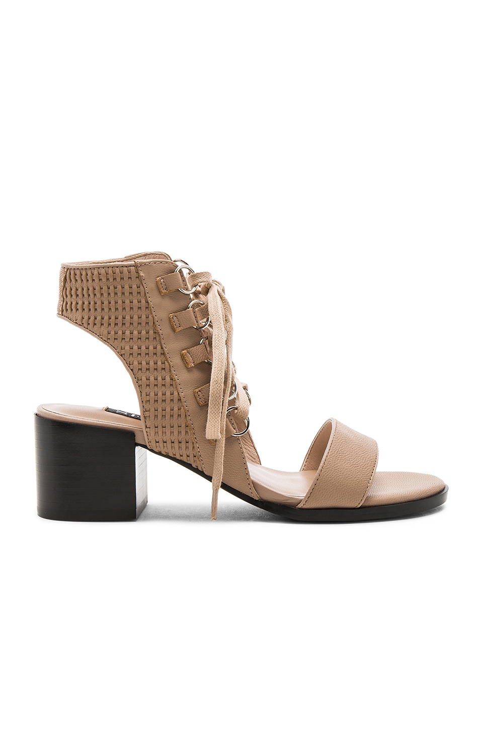 MILO LACE-UP LEATHER SANDALS