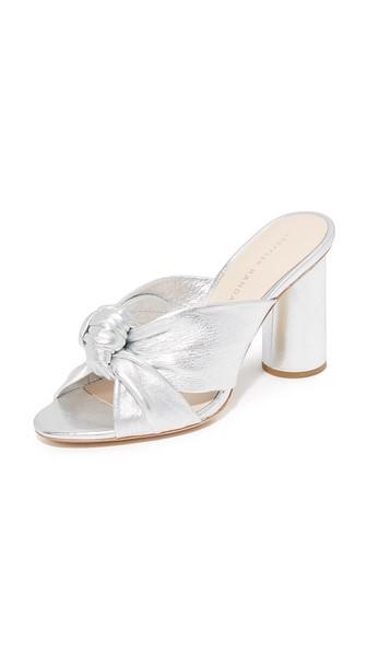 Silver Coco Sandal