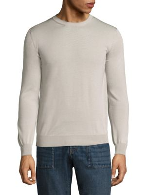 Eleventy Silks Merino Wool & Silk Fine Gauge Cardigan Sweater