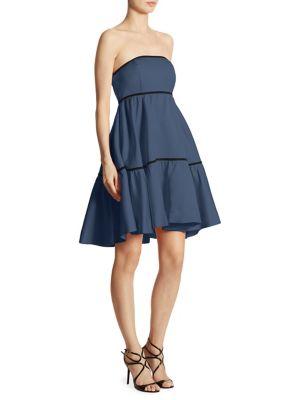 Zac Zac Posen Dresses Lila Strapless A-Line Dress