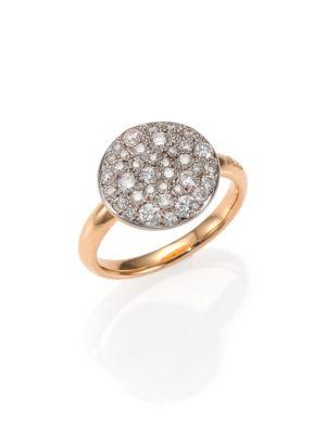 Sabbia Diamond & 18K Rose Gold Ring
