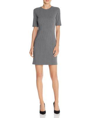 Theory Dresses Rijik Checkered Claymont Dress
