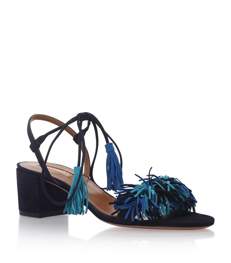 Aquazzura Suedes Wild Thing Sandals 50