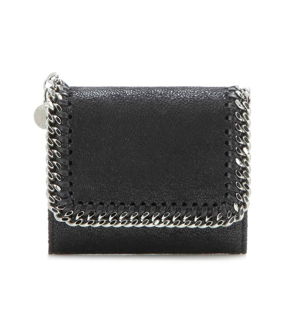 Stella McCartney Falabella small flap wallet 24FtbjSv