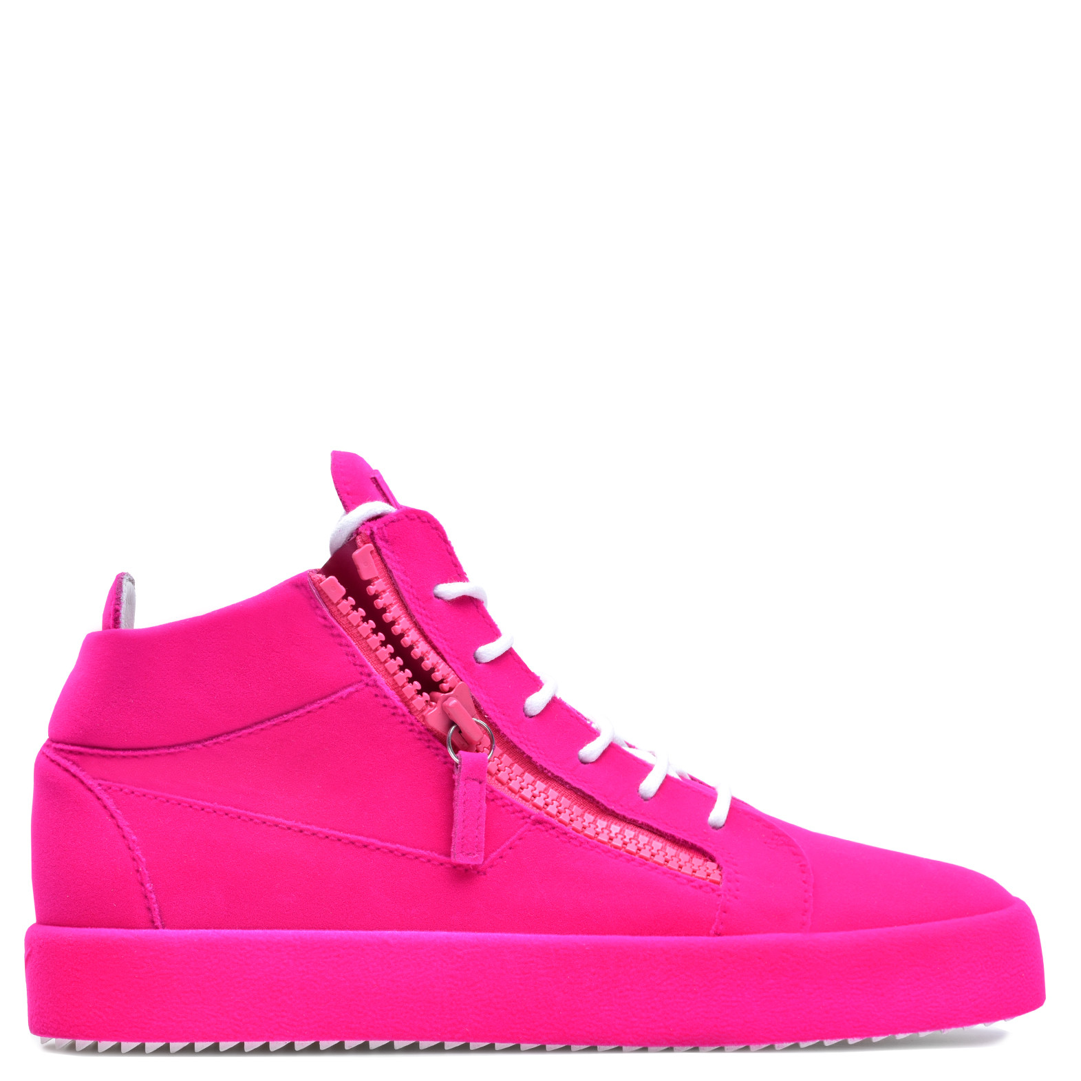 Giuseppe Zanotti Violet leather low-top sneaker with flocking patina THE UNFINISHED ZifSP0y