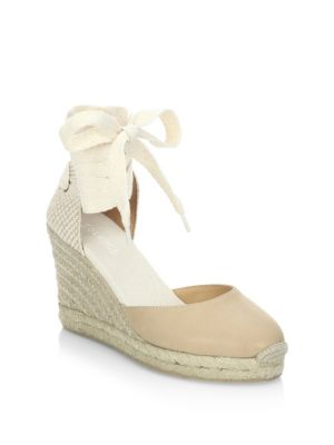 Soludos Leathers Gladiator Tall Wedge Sandals