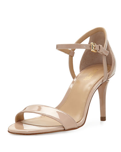 SIMONE ANKLE STRAP HIGH-HEEL SANDALS