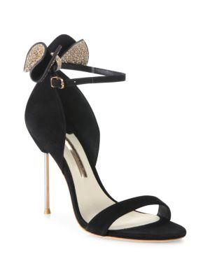 Sophia Webster Suedes Maya Suede Ankle-Strap Sandals