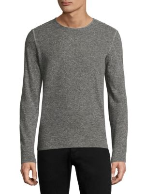 John Varvatos Linens Long Sleeve Tee