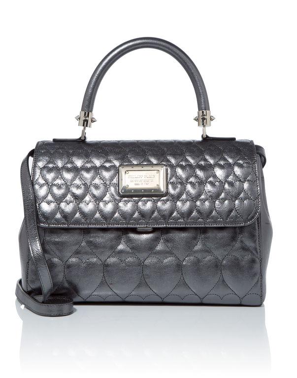 """Philipp Plein Leathers Handle bag """"Peaceful"""""""