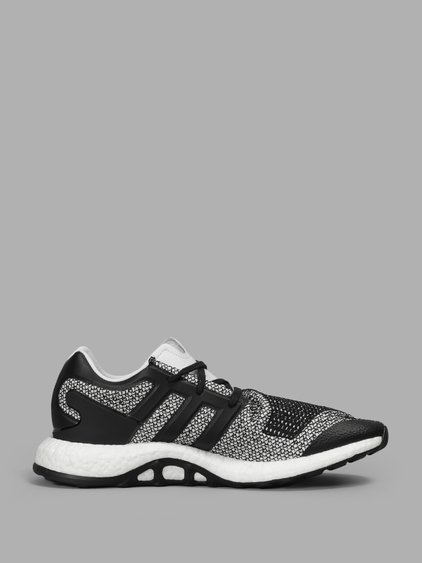 Y-3 Men'S Black And White Pure Boost