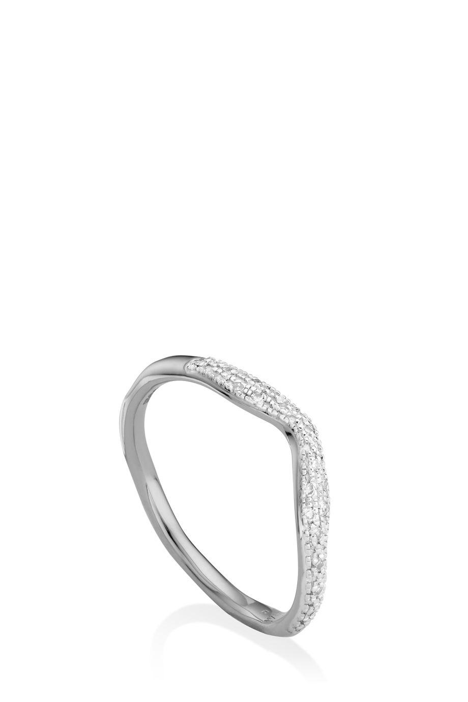 'RIVA' DIAMOND STACKING RING
