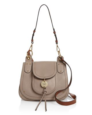 See By Chloé Leathers SEE BY CHLOE SUZZIE LEATHER SHOULDER BAG
