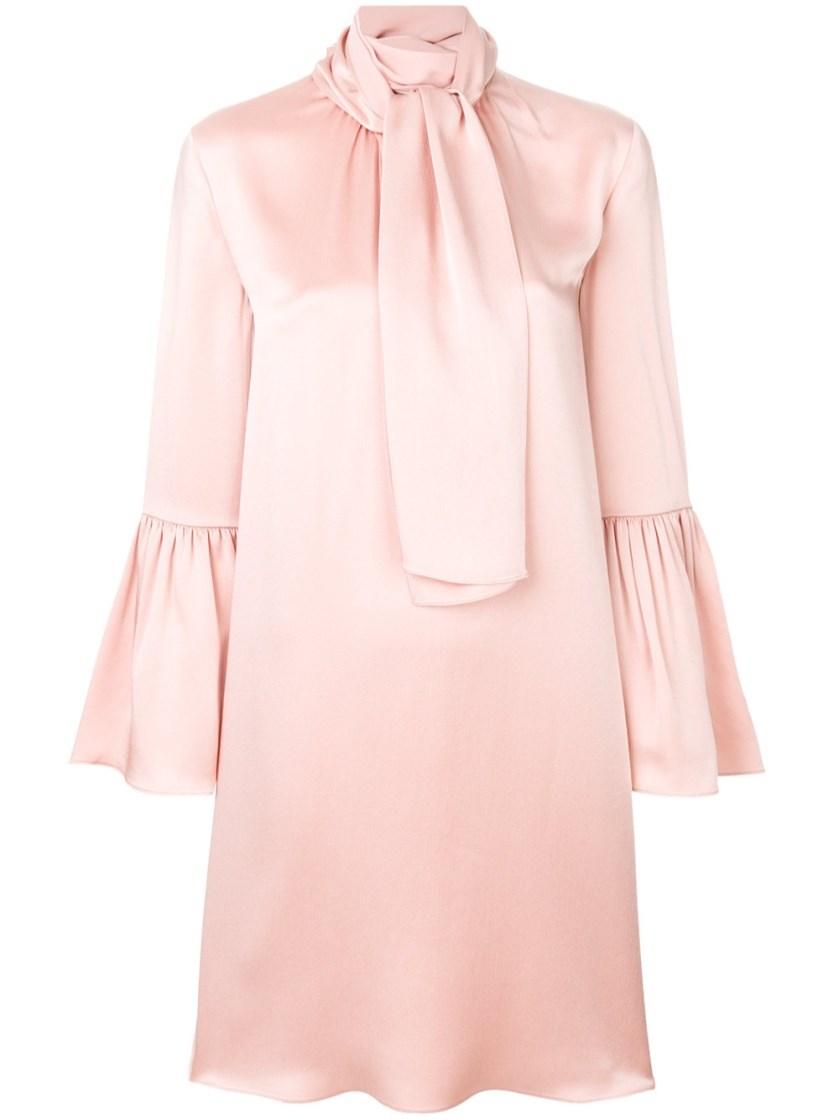 PINK CREPE DRESS