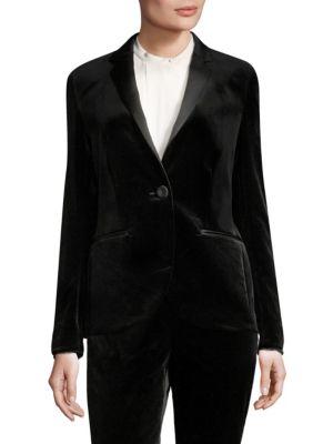 Brikenant Velvet Tuxedo Jacket