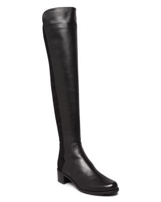 WOMEN'S RESERVE LEATHER OVER-THE-KNEE BOOTS