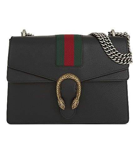 MEDIUM DIONYSUS WEBBED STRIPE BAG