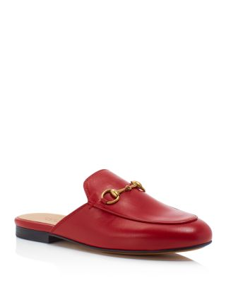 Princetown leather backless loafers