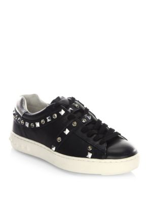 PLAY STUDDED PLATFORM SNEAKERS