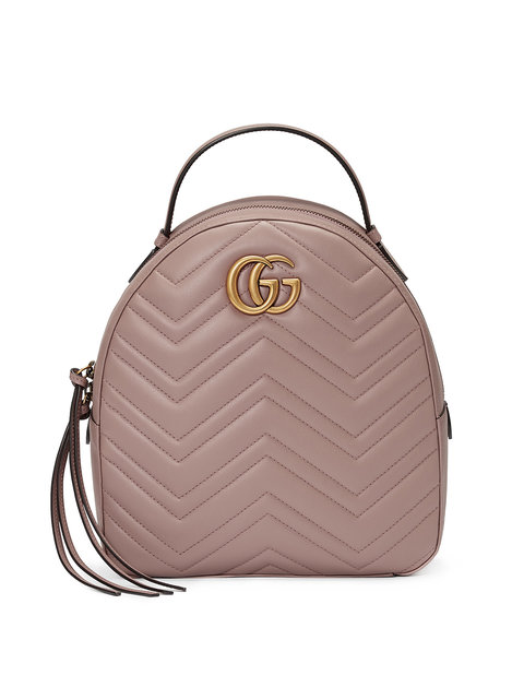 GG Marmont Matelassé Quilted Leather Backpack