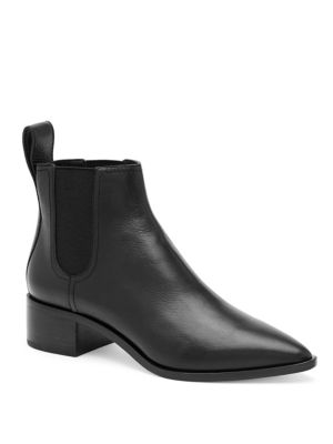 Nellie Tumbled Leather Chelsea Boots