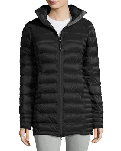Canada Goose Brookvale Quilted Hoodie Puffer Jacket In