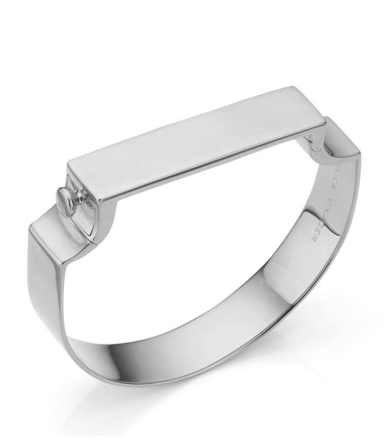 Monica Vinader Bracelets Signature Wide Bangle