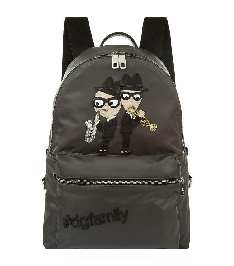 Dolce & Gabbana Backpacks Icon Print Backpack