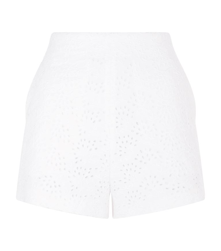 Chloé Downs Broderie Anglaise Shorts