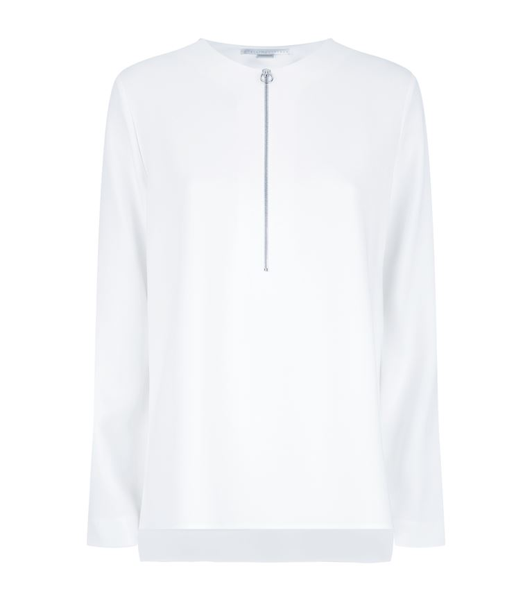 Stella Mccartney Tops Arlesa Zip Neck Top