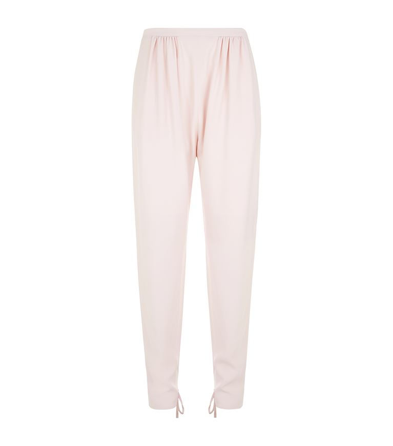 Chloé Pants Ankle Tie Fastening Trousers
