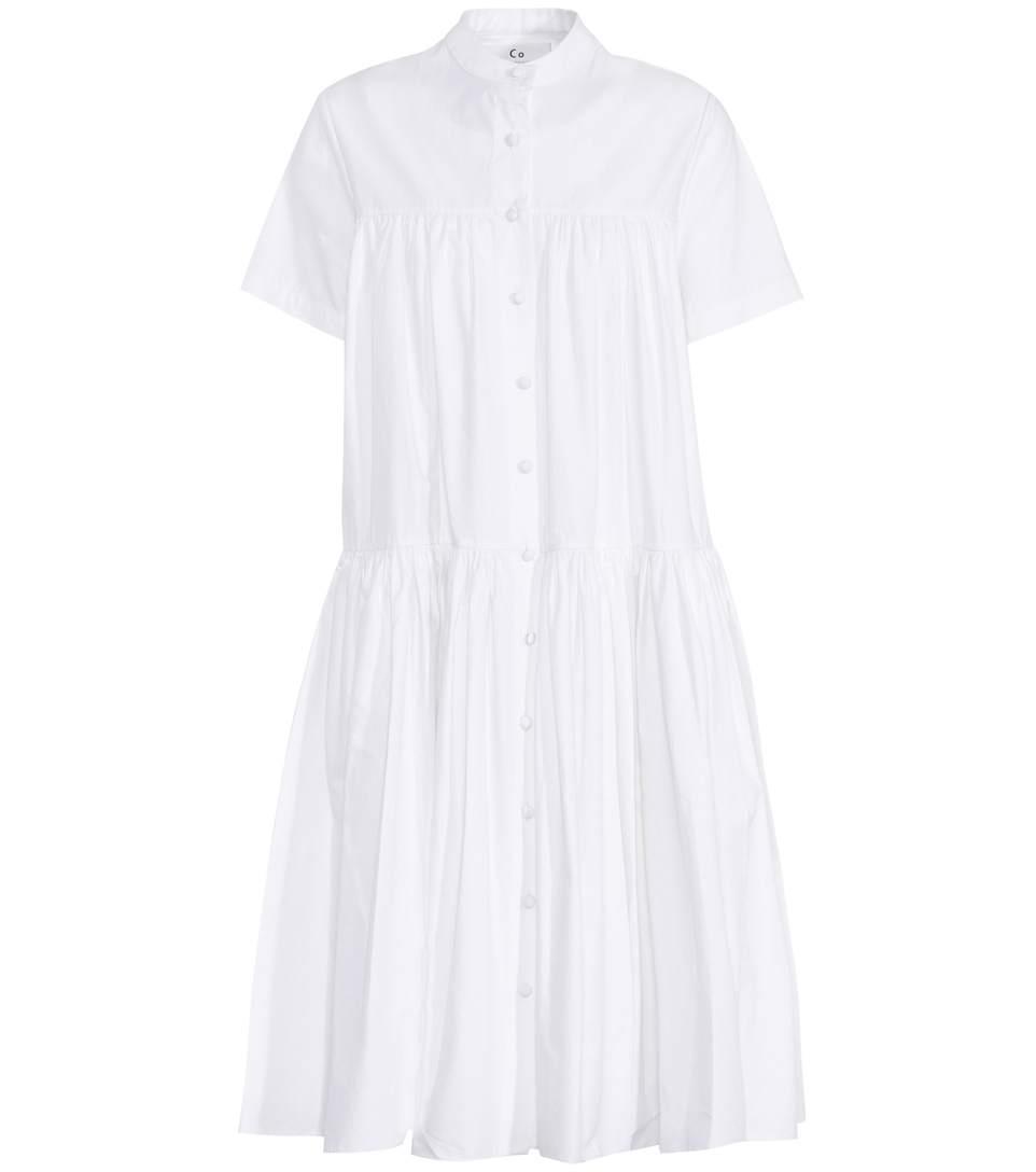 TIERED PUFF DRESS