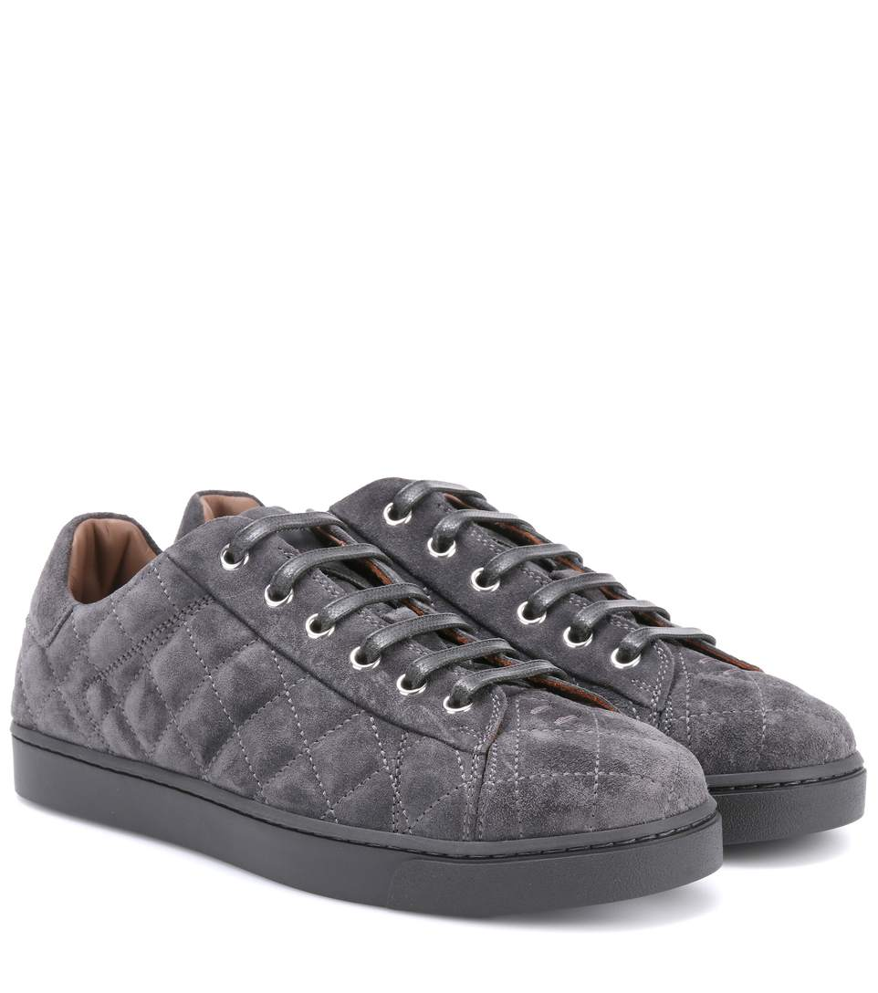 LOW DRIVER SUEDE SNEAKERS