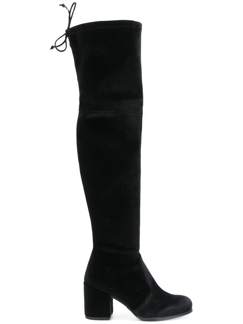 Tieland knee-length boots
