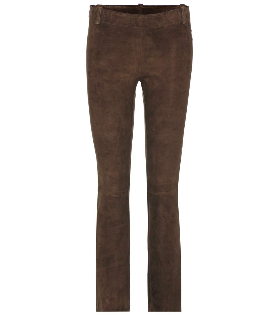 JAGGER SUEDE TROUSERS