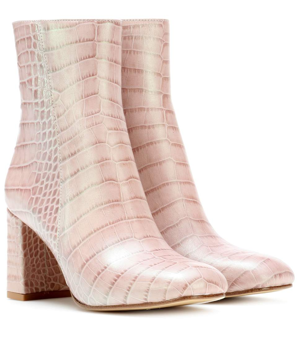 EXCLUSIVE TO MYTHERESA.COM - AGNES LEATHER ANKLE BOOTS