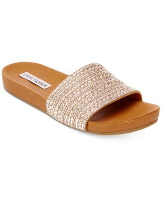 WOMEN'S DAZZLE EMBELLISHED SANDALS