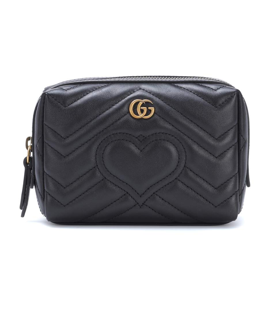 GG Marmont matelassé leather pouch
