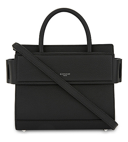 MINI HORIZON LEATHER CROSS-BODY BAG