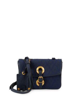 Argyle Leather Crossbody Bag