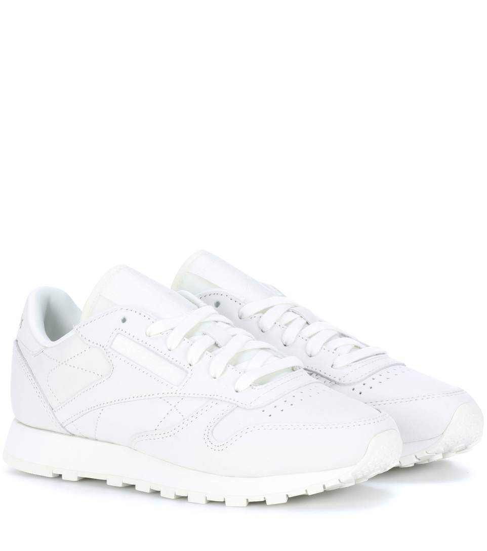 Classic Leather FBT suede sneakers