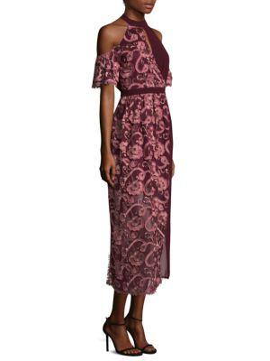 Tokyo Embroidered Lace Shift Dress